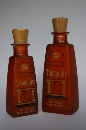 TRANQUILITY ORG. BLEND MASSAGE OIL