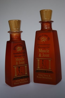 MUSCLE & JOINT ORG. BLEND MASSAGE OIL