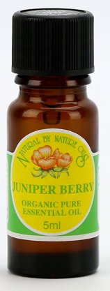 ORGANIC JUNIPER BERRY 5ml (Juniperus communis)